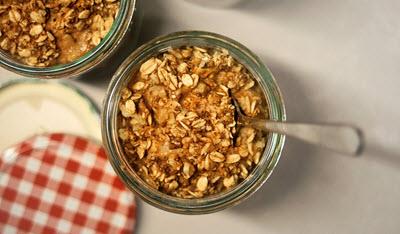 oats in jar