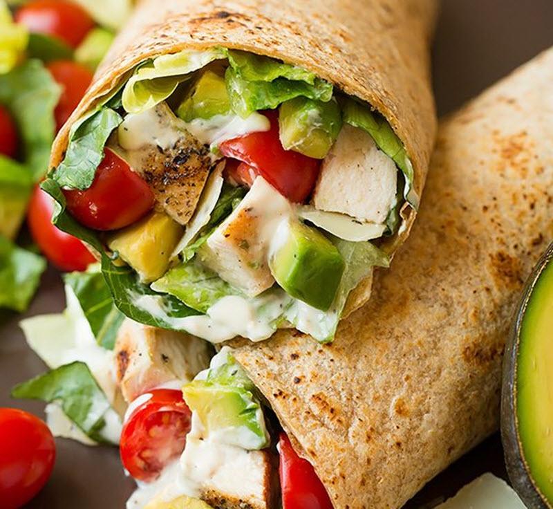 Avocado wraps